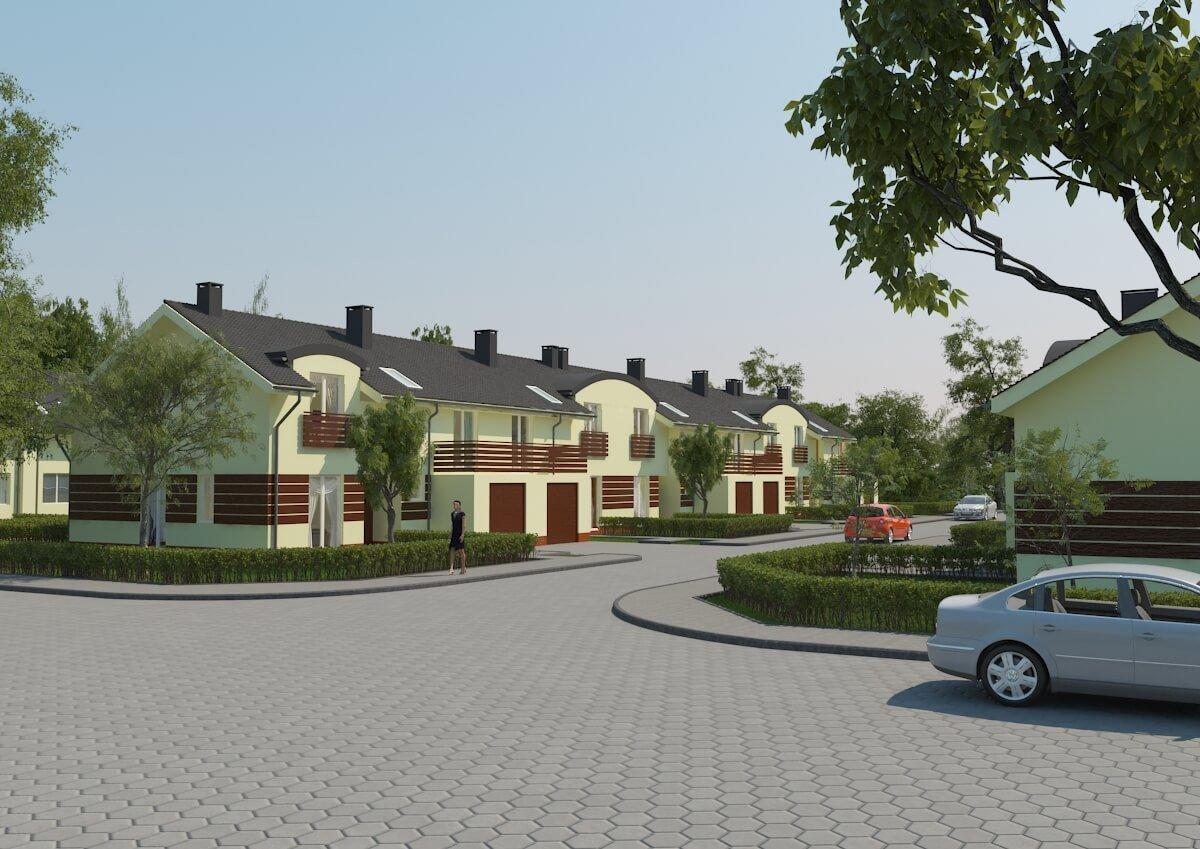 Wizualizacja - Mieszkania pod Wrocławiem (3)')